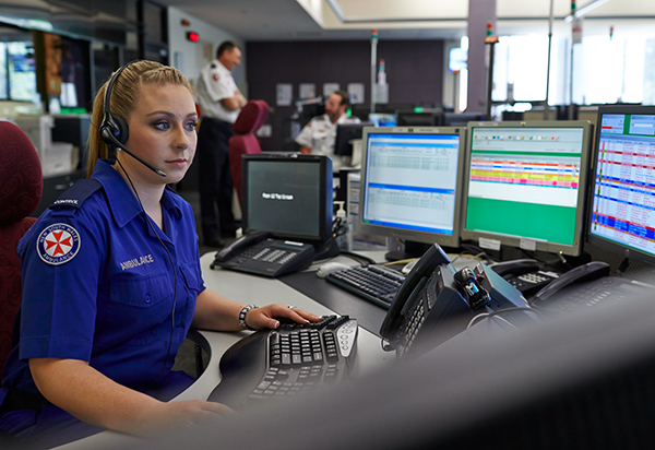 NSW Ambulance Control Centre