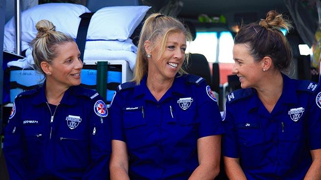 Celebrating Women in Ambulance