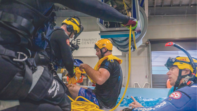 Treacherous training critical to saving lives