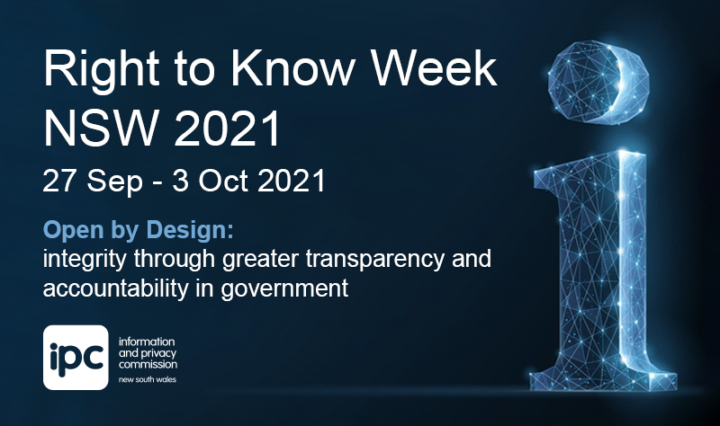 Right to Know Week NSW 2021