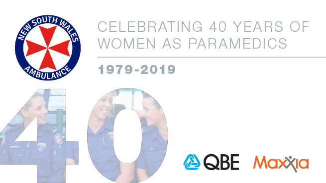 40 years of women as paramedics